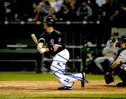Tyler Flowers Signed 8x10 Photo Chicago White Sox Autographed