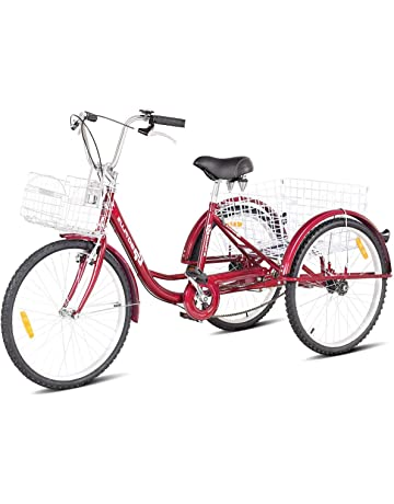 Goplus Adult Tricycle Trike Cruise Bike Three-Wheeled Bicycle with Large  Size Basket for Recreation b582781d3