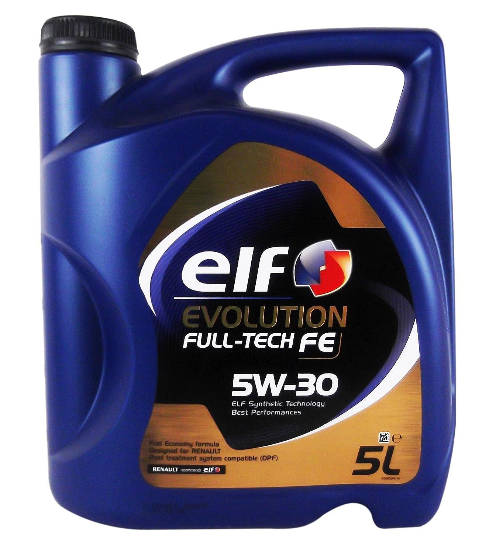 Car lubrifiant elf evolution full tech fe 5w30 5 litres