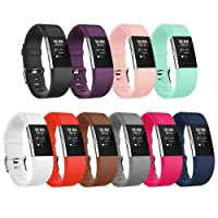AdePoy For Fitbit Charge2 Strap Bands, Adjustable Replacement Accessory Sport Wristband for Fitbit Charge 2 Strap Small Large Women Men