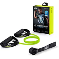 PTP PowerTube+ Resistance Tube with ICT Innovation and Door Anchor, Lime, Light