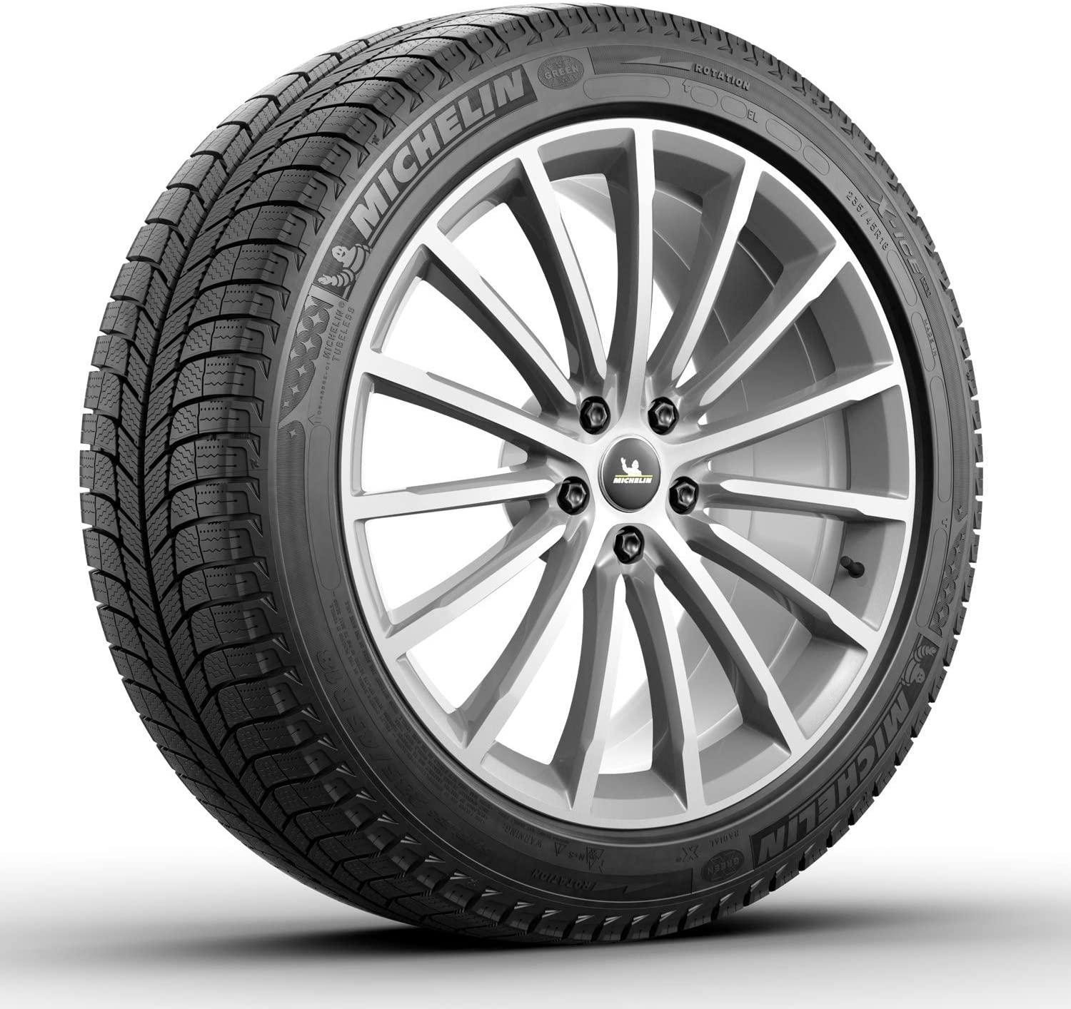 Michelin X-Ice Xi3 Winter Radial Tire 225//50R17//XL 98H