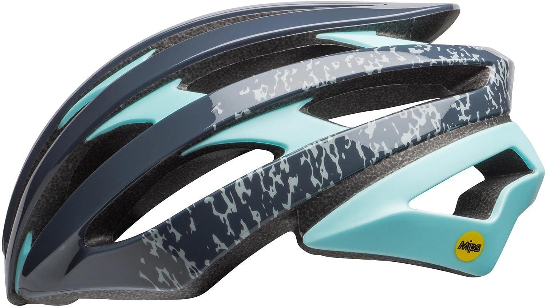 BELL Stratus MIPS Joy Ride Damen Rennrad Fahrrad Helm blau türkis 2018  Größe  M (55-59cm)
