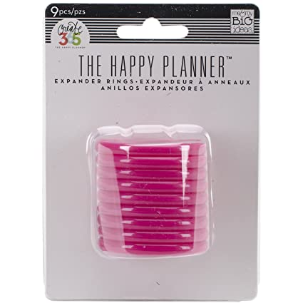 happy planner 365 rings