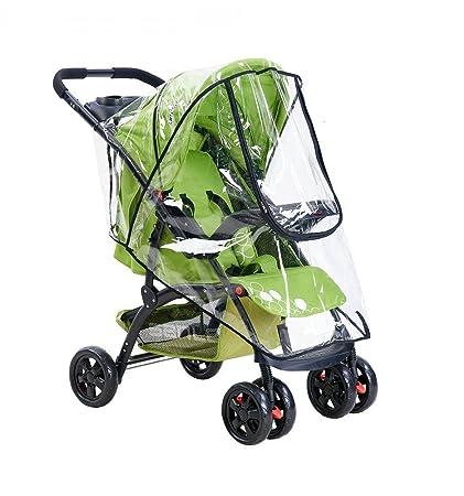 Paraguas para silla de paseo, Fontee Baby Burbuja de Lluvia Protector Cubierta contra Lluvia y