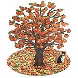 サンリオ 秋カード レーザーカット 柿の木 P4567
