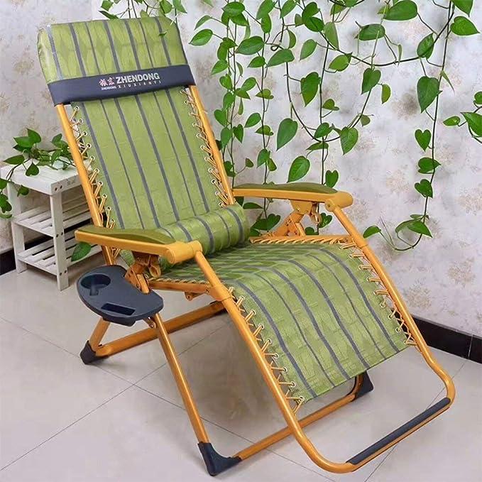 XHX Tumbonas plegables, sillón de descanso de gravedad cero ...