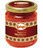 Tunisian Spicy Harissa Sauce - Smoky, Spicy Hot Chili Pepper Paste from Kartago - 7.05 Oz (Pack of 2)
