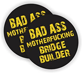 """3 pack 2/"""" MUTHAFUCKA funny sarcastic helmet//hardhat decal"""