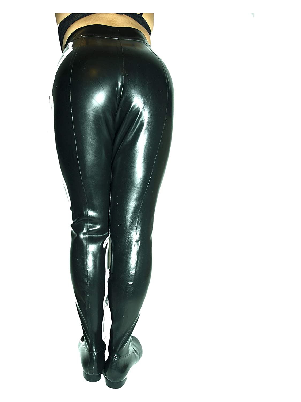 Handmade Hosen Stiefel Latex Gummi Rubber Flache Sohle Bolingier Poland Größe 36-48 FS1191