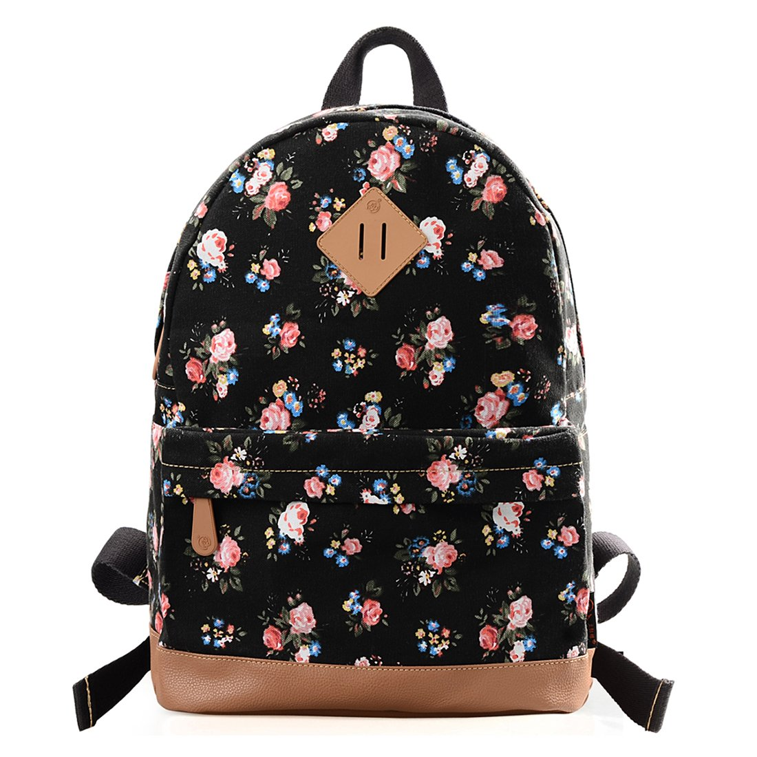 2edbe42f2ab0 Douguyan Casual Lightweight Print Backpack for Girls and Women School  Rucksack 133A