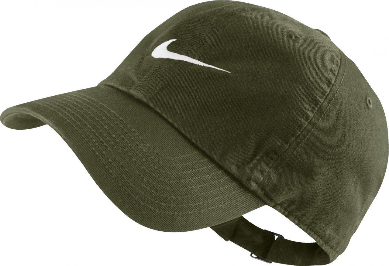 fa326ea5f Nike Heritage 86-Swoosh Tennis Cap for Man, Green (Legion Green ...