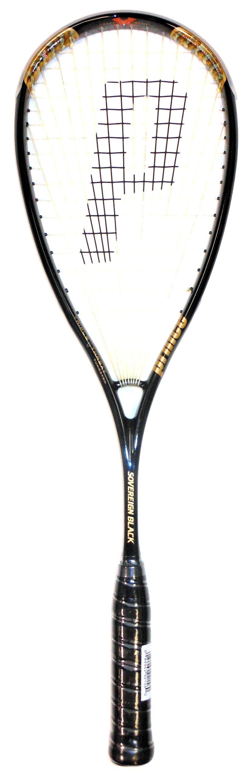 Prince TT Sovereign Black Squash Racquet