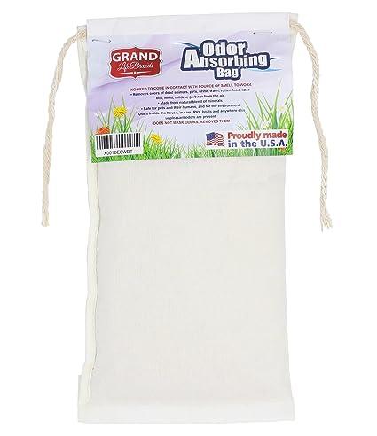 GrandLifeBrands PREMIUM Odor Eliminator - dead rodents, FLOOD, MOLD, MILDEW  SMELL, pets, cat litter, garbage, skunk, urine, feces, smoke - REMOVES,