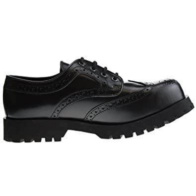 Boots Braces Schuhe 4 Loch Budapester Schwarz Amazon Co Uk Shoes