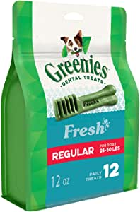Greenies Freshmint Dental Treat for Regular Dog 340 g, 12 oz