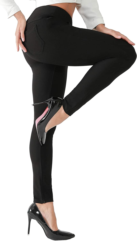 Super Special SALE held AUSIMIAR Women Stretch Skinny Cheap bargain Dress Bl Pants Comfy Super Pull-on