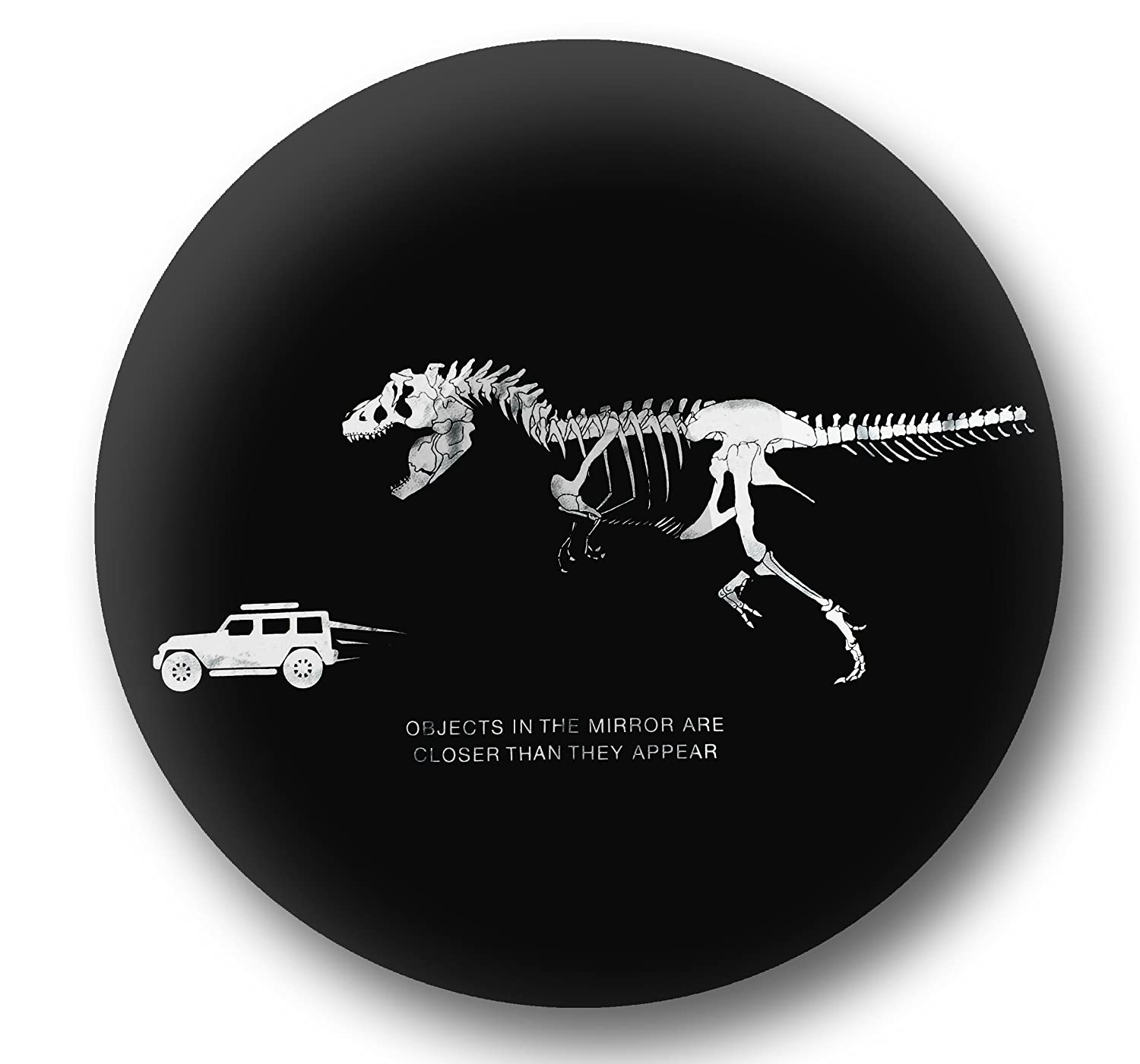 Heavy Duty fits Grand Cherokee Personalized with T-Rex Chasing Jeep Black Leather Wrangler Accessories Jeep Spare Wheel Tire Cover Renegade Non-scratch Soft Back SUV UV Resistant Liberty