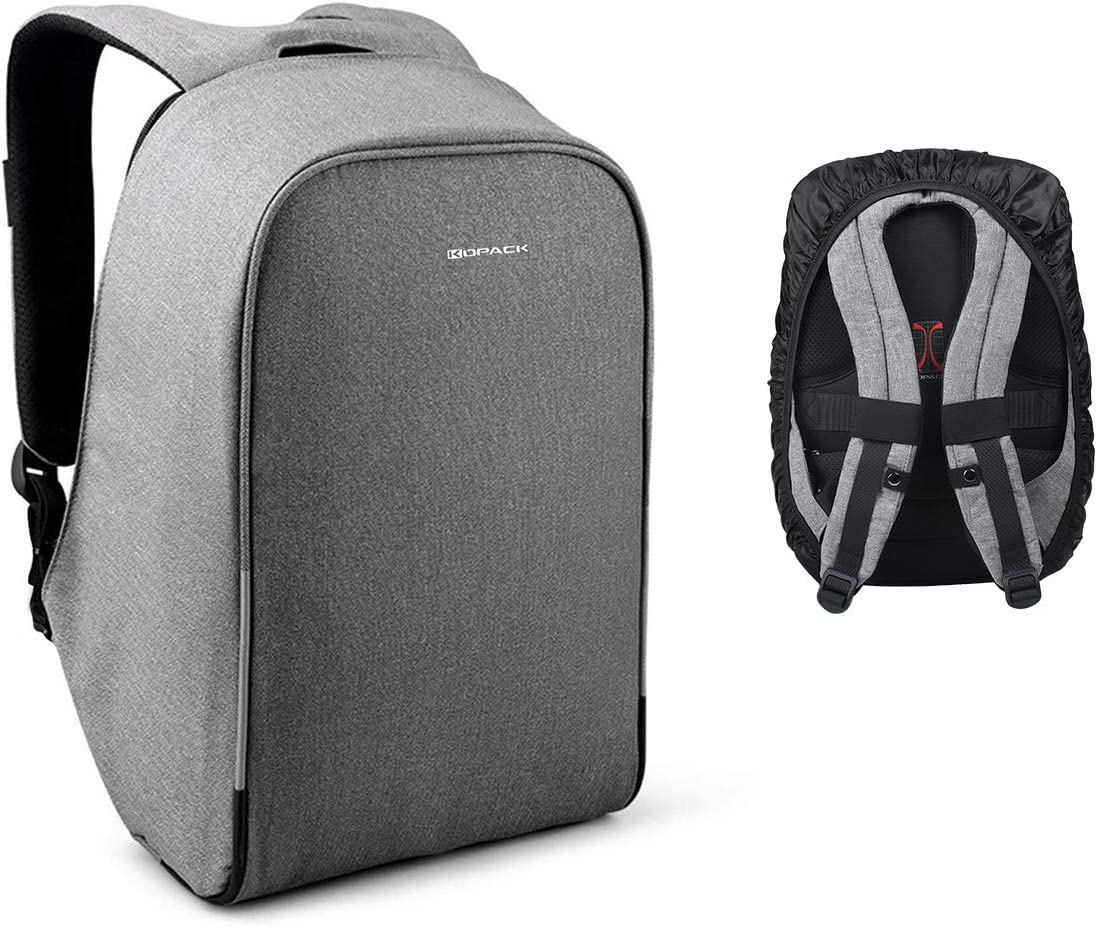 Anti-thief USB Recharging Notebook Men Backpack Business Travel Messenger Bag