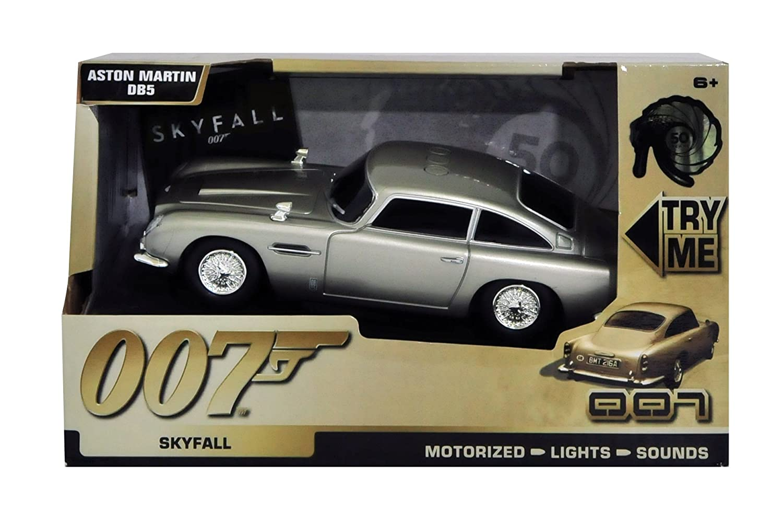 Amazon.com: James Bond Aston Martin DB5 With Motorised Light U0026 Sound: Toys  U0026 Games