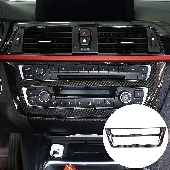 Diyucar Für 3 4er Gt F30 F32 F34 2013 2018 Auto Abs Center Mode Dekoration Rahmenabdeckung Verkleidung Auto
