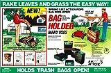 Bag Butler Set of 2 Lawn and Leaf Trash Bag Holders