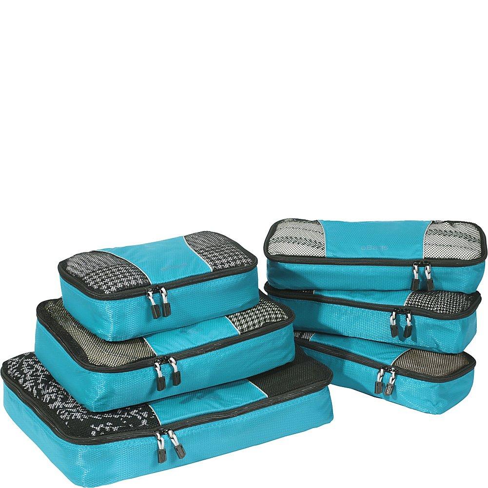 eBags Packing Cubes - 6pc Value Set (Titanium) M288518