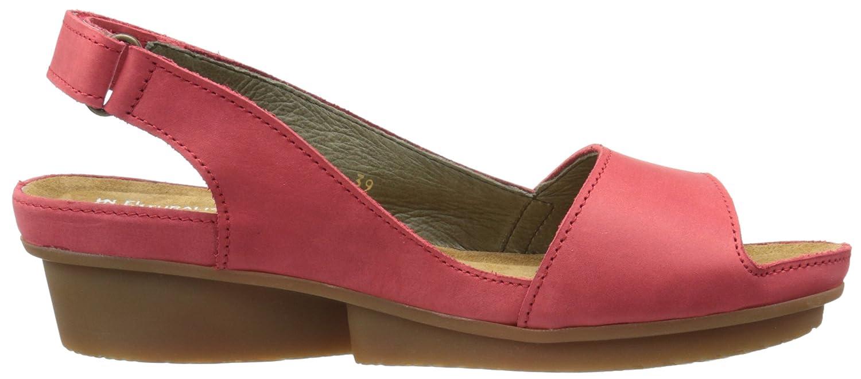 El Naturalista Women's Nd 25 Code Wedge Sandal B0163YB1TA 38 EU/7-7.5 M US|Grosella