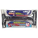 EKLIND 33198 Std Grip Hex T-Key allen wrench - 8pc