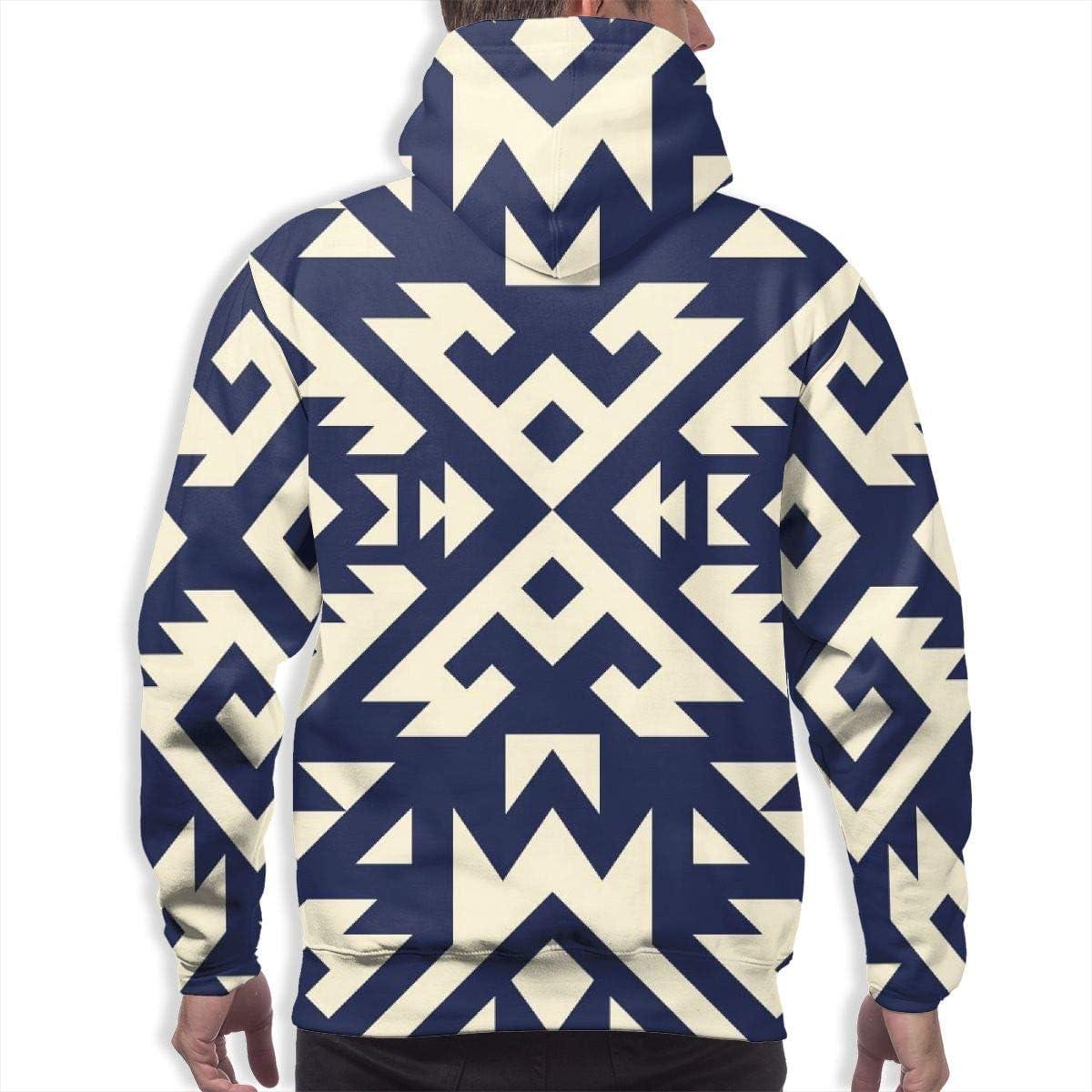 Sweatshirts Clothing Mens Hoodie Tribal Navajo Vector