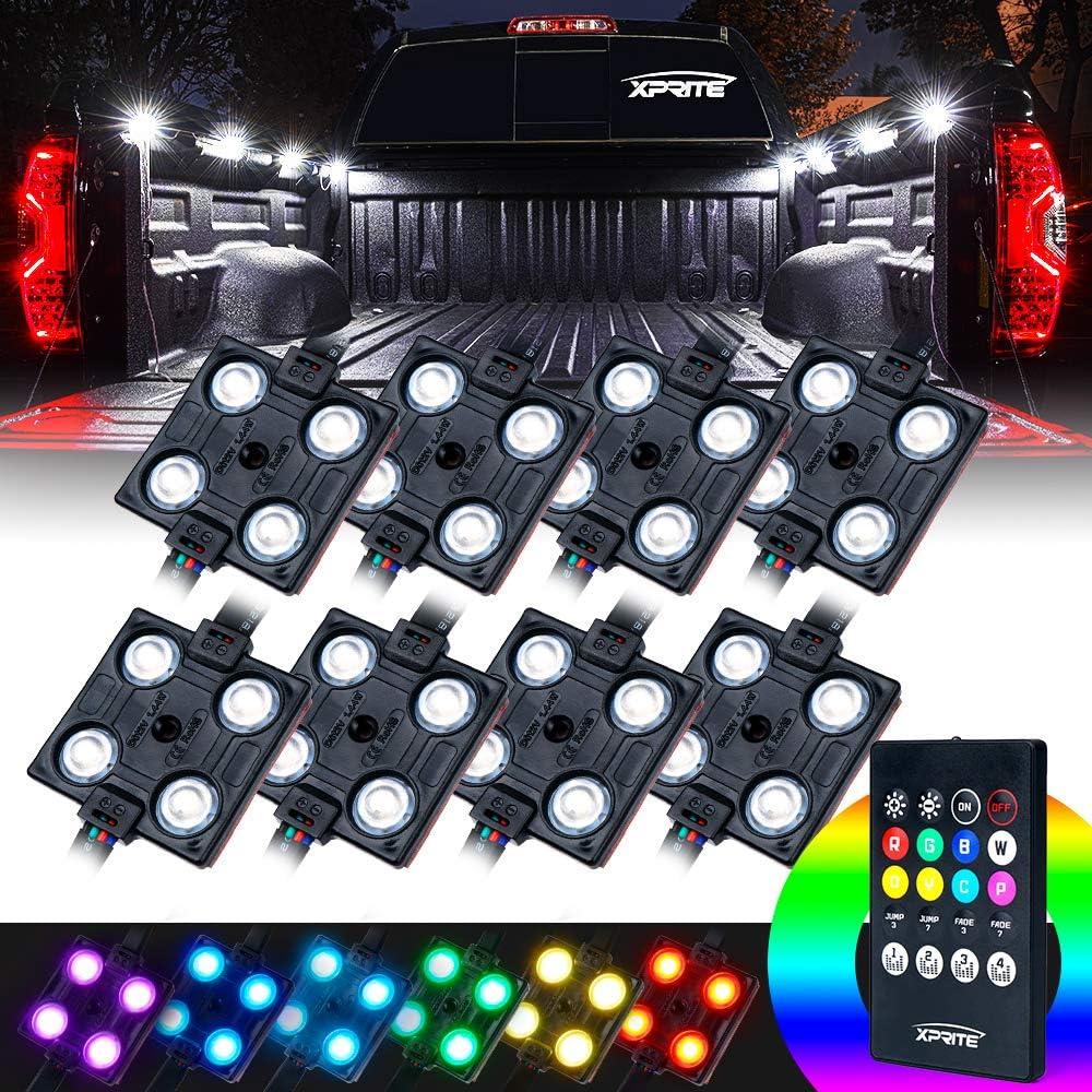 Xprite RGB LED Truck Bed Lights Kit