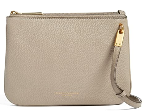 167b5336c1c Image Unavailable. Image not available for. Color: Marc Jacobs Pike Place  Double Percy Leather Crossbody ...