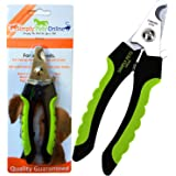 Professional Dog Nail Clippers Large Breed – Easy to Use Pet Nail Clippers with Quick Sensor and Safety Lock