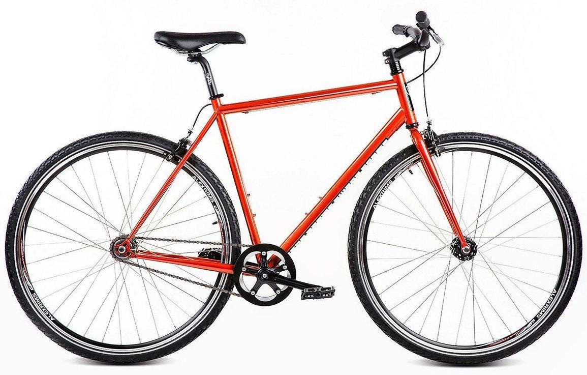 Swobo Accomplice 700 C LG 60 cmシングルスピード固定ギアUrban Bikeオレンジ新しい B077F2RRH8