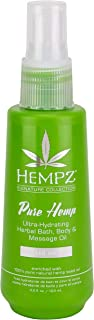 product image for Hempz Pure hemp bath, body & massage oil, 4.2 Ounce