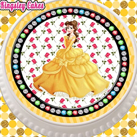 "PERSONALISED 7.5/"" ROUND PHOTO EDIBLE CAKE CUPCAKE TOPPER CUSTOM MADE /& RIBBONS"