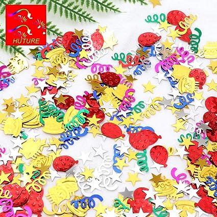 Amazon.com: Huture - Espray de confeti de feliz cumpleaños ...