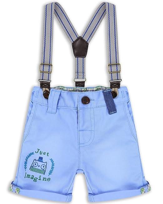 11f08d202 The Essential One - Bebé Infantil Niños - Pantalón Corto con Tirantes - 5-6  Años - Azul - EOT263  Amazon.es  Ropa y accesorios