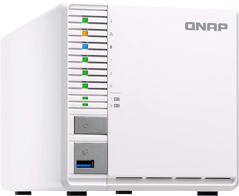 Qnap Ts 351 4g 3 Bay Raid 5 Nas System Zwei M 2 Ssd Computer Zubehör