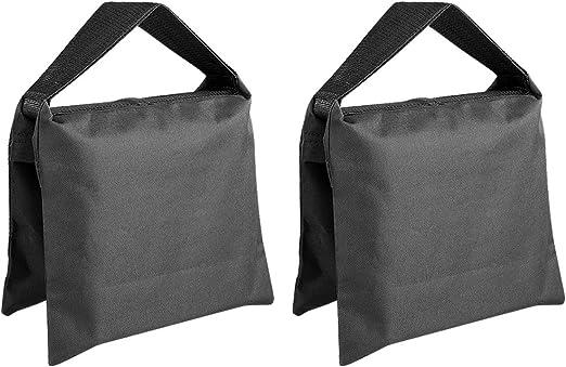 Sand Bag Photography Studio Video Heavy Duty Sandbag Saddlebag for Photo Studio Light Stand Boom Arm Camera Tripod with Carabiner,3 Pack Blue