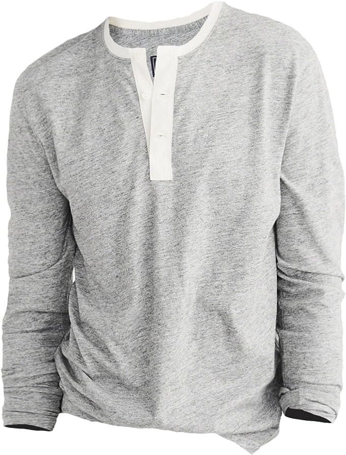 Abercrombie & Fitch - Camiseta de manga larga - Rayas - manga ...