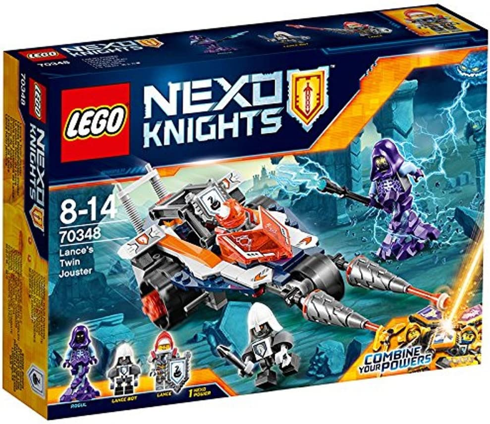 DISCO - 70348 LEGO Nexo Knights Lance's Twin Jouster