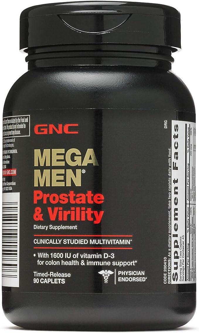 gnc próstata y virilidad precio