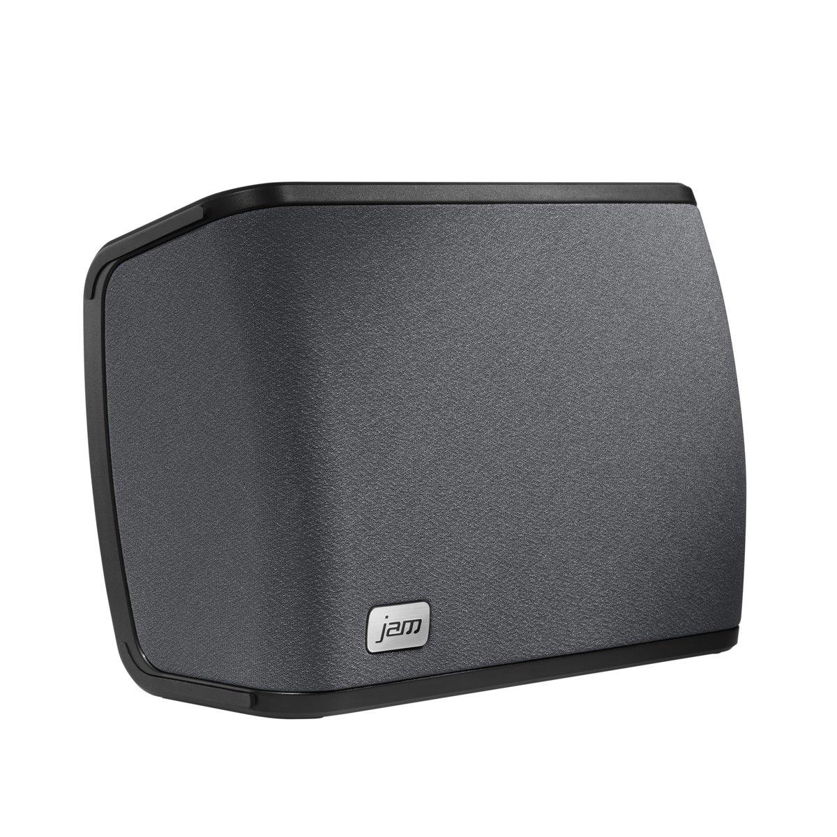 Jam Audio Rhythm Wireless Wi-Fi Speaker w/ Amazon Alexa Voice, Play 1 / Multi-Room, 2.1 Stereo Sound, Treble + Bass Adjustment, Stream Your Personal Music Library, Spotify etc. with Free JAM App