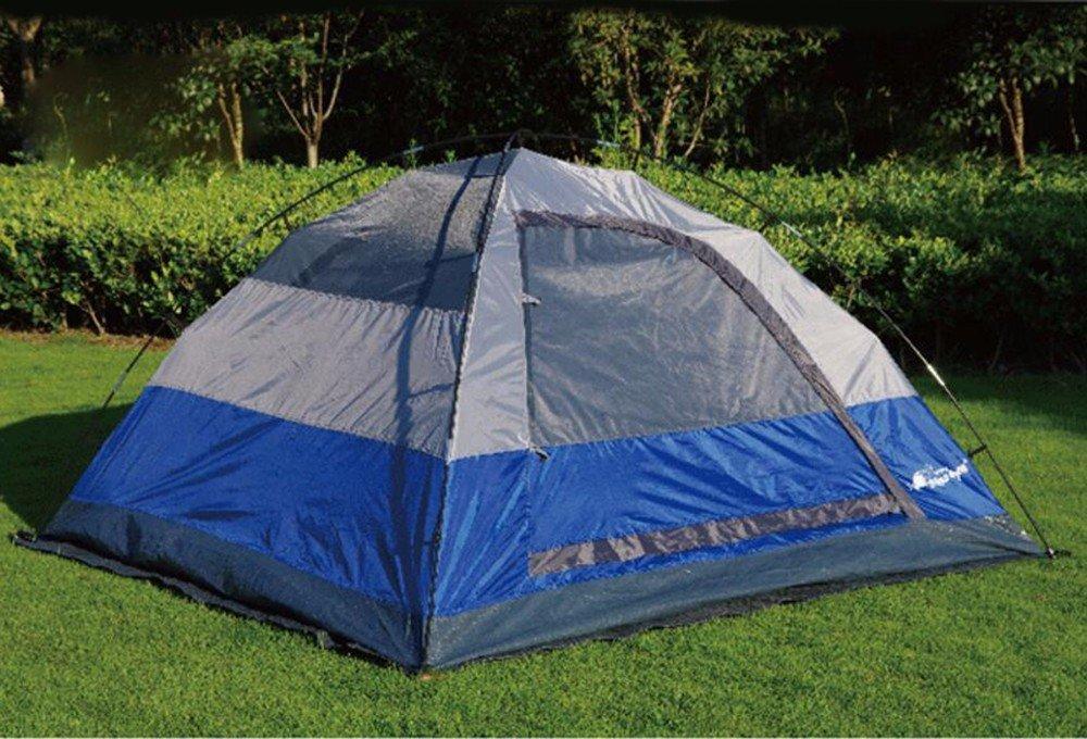 SJQKA-zelt, automatische zelt für eine minute, zelt camping, für 3 - 4 personen, camping, camping, zelt beach - fischerei,blau 7fe1ea