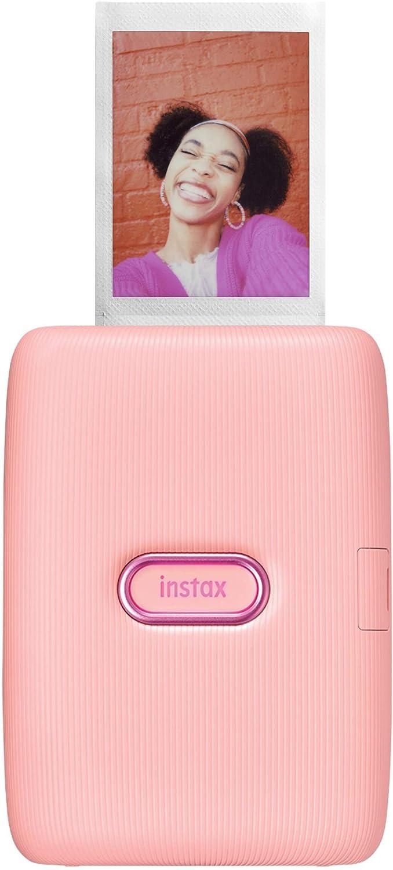 Fujifilm Instax Mini Link Smartphone Printer - Ash White : Camera & Photo