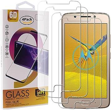 Guran 4 Paquete Cristal Templado Protector de Pantalla para ...