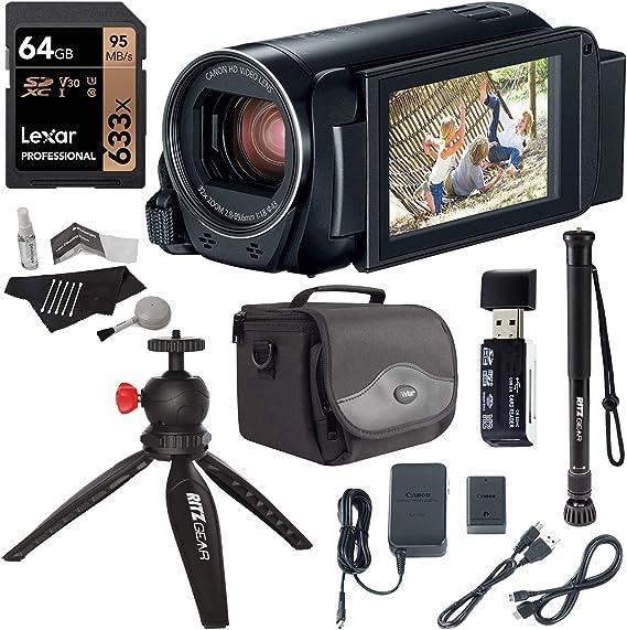 Canon Vixia Hf R800 A Camcorder Kit