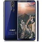Cubot Power SmartPhone 4G, 5.99 Pollici (18:9) Schermo Android 8.1 Telefono, Octa-Core MT6 763T 2.5GHz, 6GB RAM + 128GB ROM, 20MP+13MP Camera,Dual Sim,Fingerprint Sensor,Wifi,GPS Cellulare- Blu