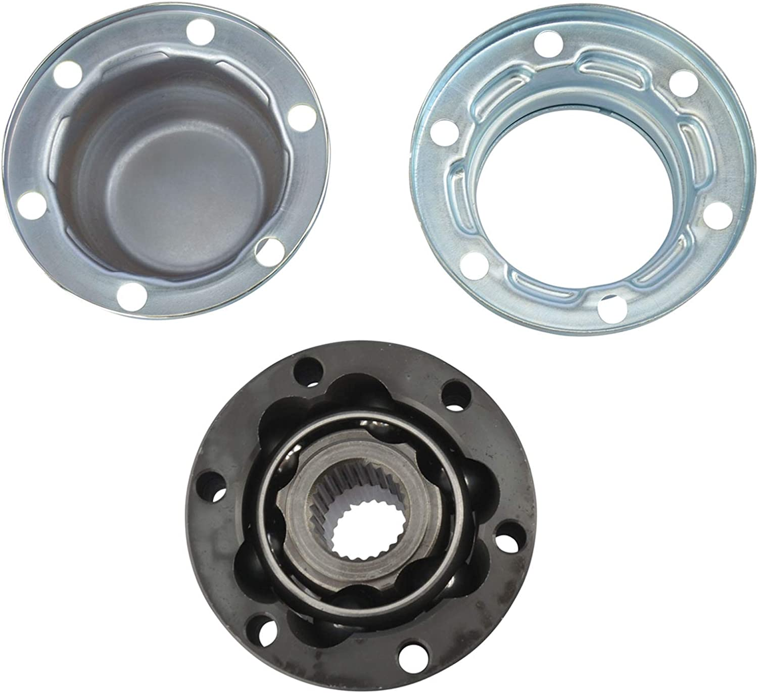 2002-2007 Jeep Liberty TRQ Front Drive Shaft Front CV Joint Rebuild Kit for 1999-2004 Jeep Grand Cherokee with QUADRA-DRIVE 4WD System